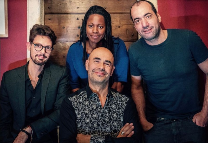 LONDON PIZZA EXPRESS SOHO - Antonio Forcione Quartet - Bookings: 020 7439 4962
