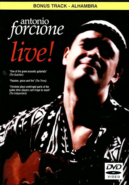 Antonio Forcione live! DVD | 2000
