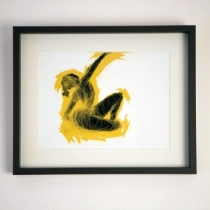 Black Dancer limited edition print - Click here to view and order this product