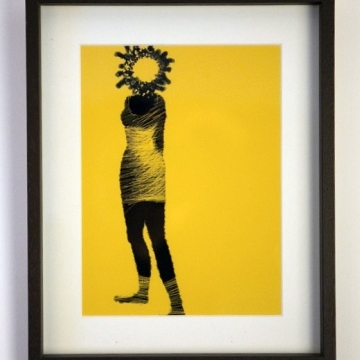 Here comes the sun limited edition print